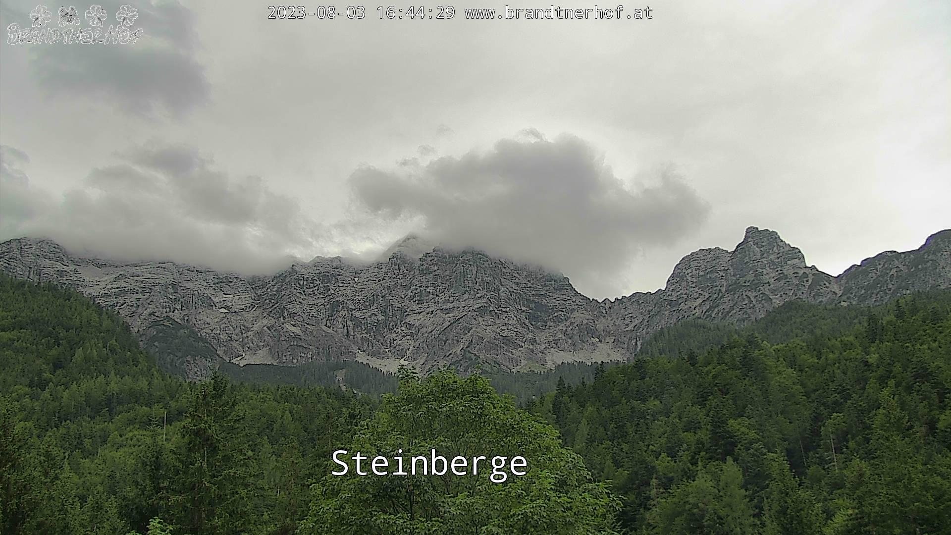 Loferer Steinberge mit Mitterhorn und Rothörner